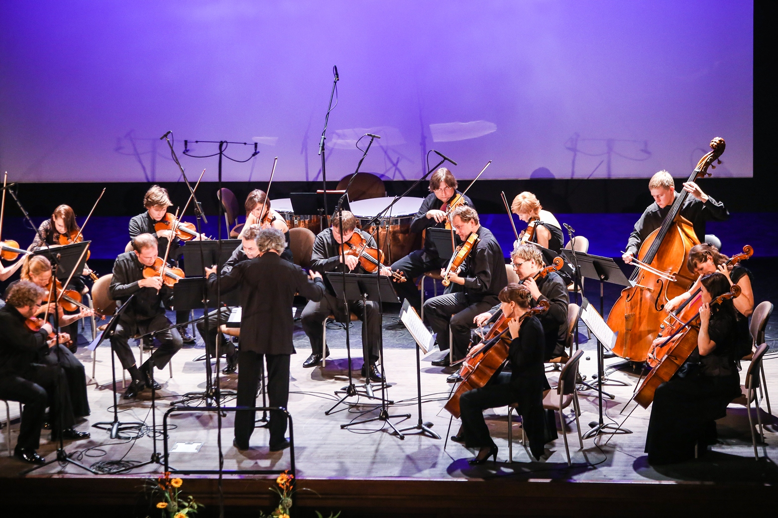 Kremerata Baltica koncerts ar Gidonu Krēmeru un pianistu Andreju Korobeiņikovu (