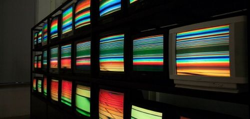 """Mārtiņš Ratniks, video installation """"Fields"""""""