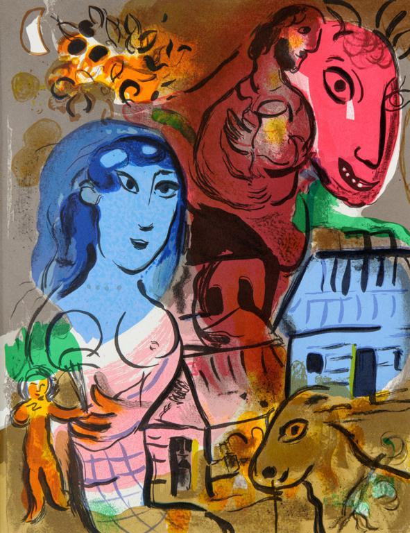 Exhibition Marc Chagall and the Painters of European Avant-garde