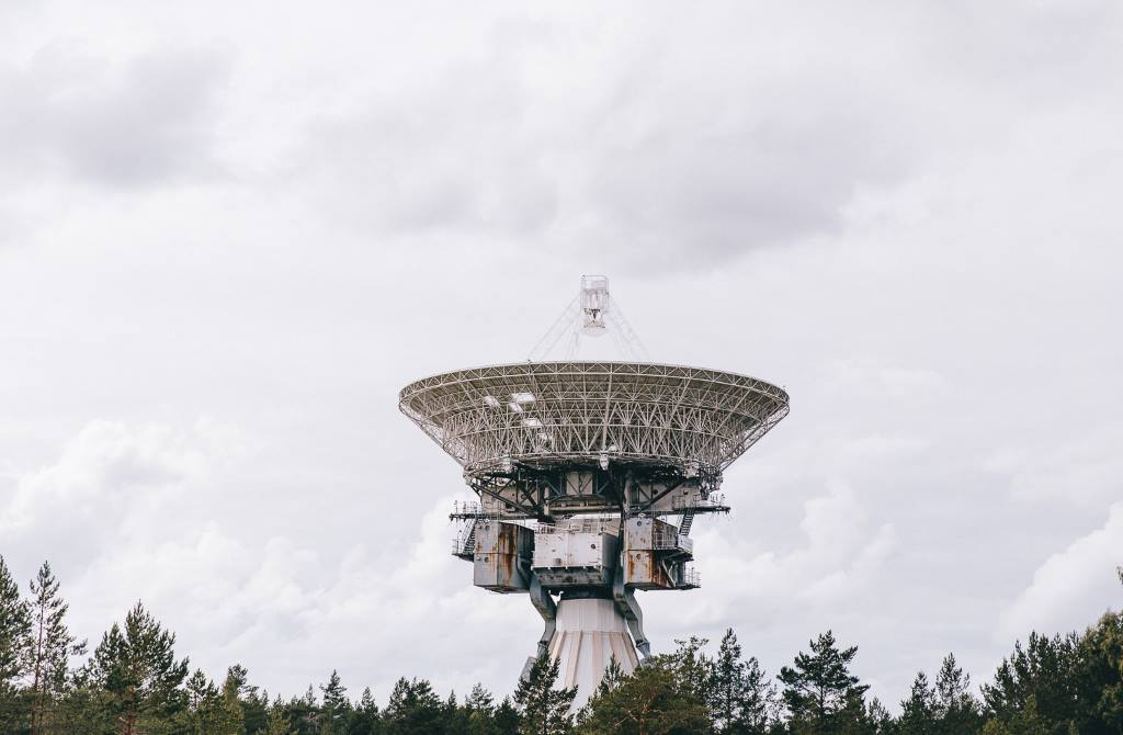 Ventspils International Radio Astronomy Centre in Irbene