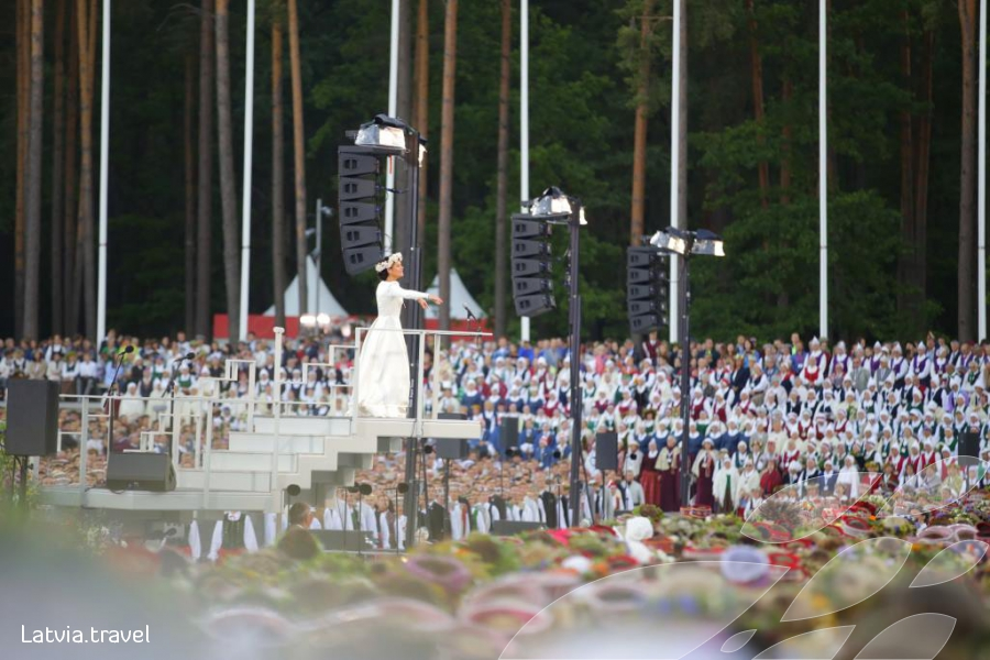 Song and Dance Celebration in Latvia | Latvia Travel