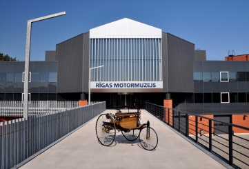 After renovation the Rīga Motor Museum has become even more exciting