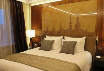 """""""Grand Hotel Kempinski Riga"""" and other hotels in 2017"""