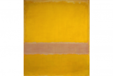Untitled (yellow, pink), 1955, 202.6 x 172.1 cm, collection of Kate Rothko Prizel