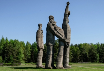 New Exhibition at the Restored Memorial in Salaspils