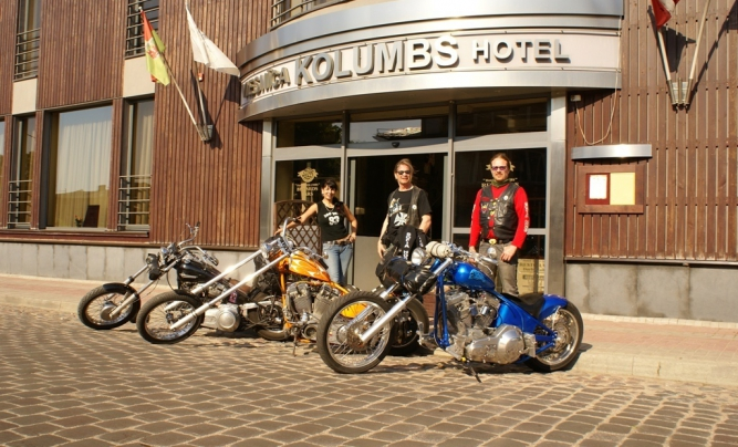 Hotel Kolumbs ieeja