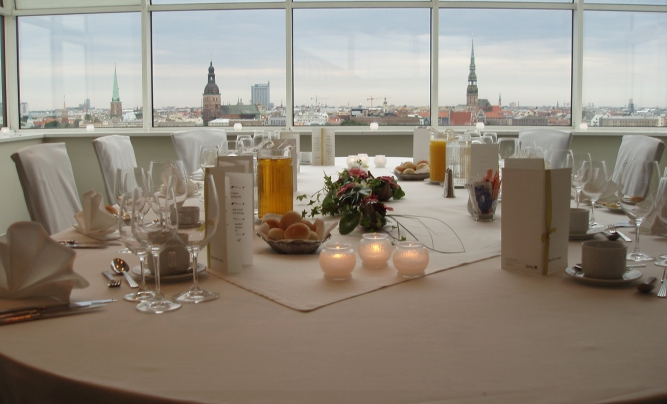Radisson Blu Daugava Hotel Observation Deck