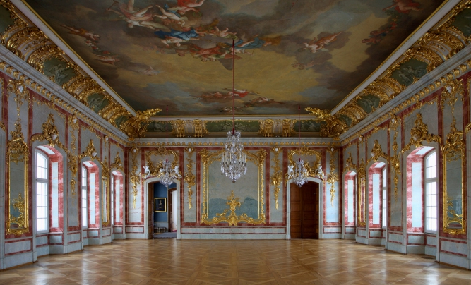 Rundale Palace  interiour
