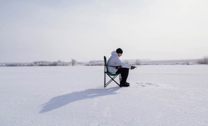 Winter angling in Latvia