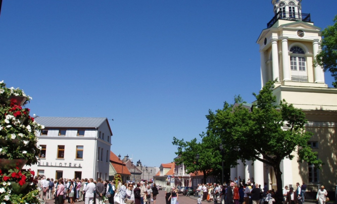 Ventspils Town Square