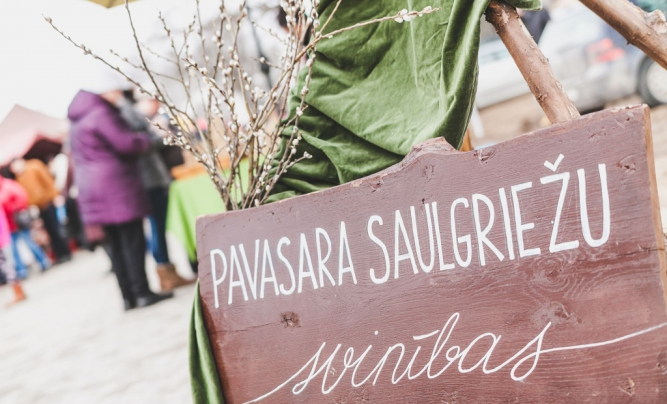 "Spring Equinox celebration and fair ""Savour the Flavour at Valmiermuiza"""