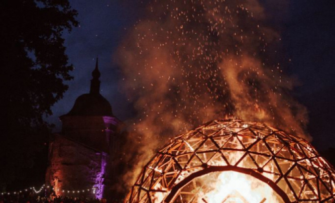 """Summer Solstice of celebration ar Valmiermuiza"""" and ethno-eco festival """"Sviests"""""""