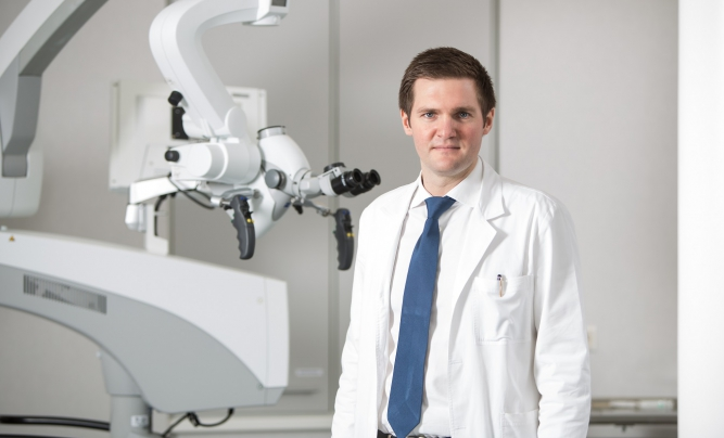 Raimonds Mikijanskis, Neurosurgeon, Head of the surgical unit