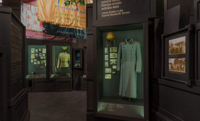 """A new, notable permanent exhibition """"Latvian Population in World War I"""""""