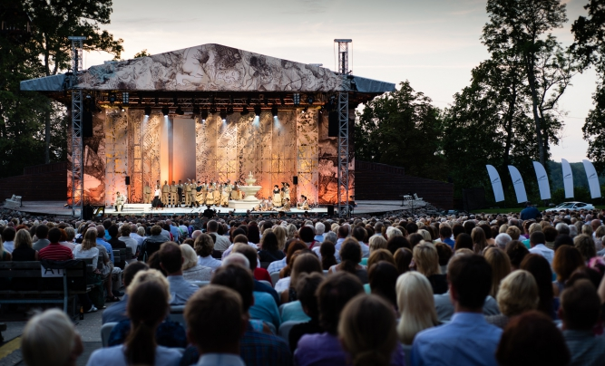 The Sigulda Opera Festival Promises Wonderful Rendezvous