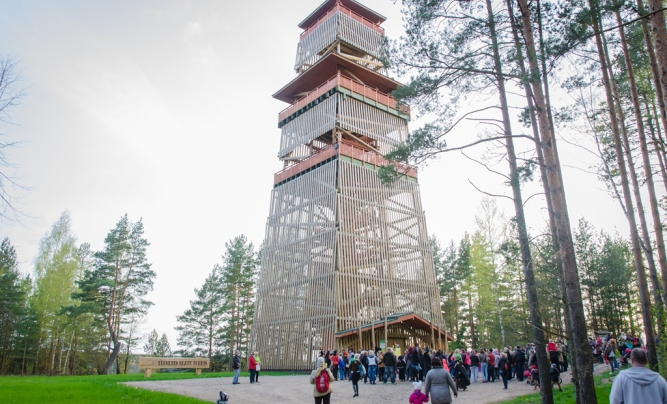 Tervete Nature Park – one of the favourite parks in the Baltics