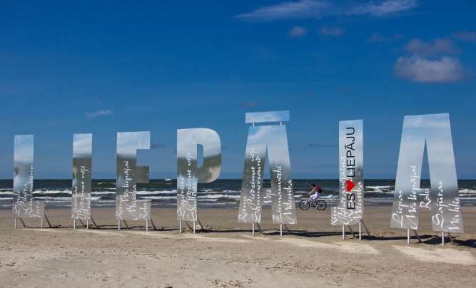 Liepāja Blue Flag beach