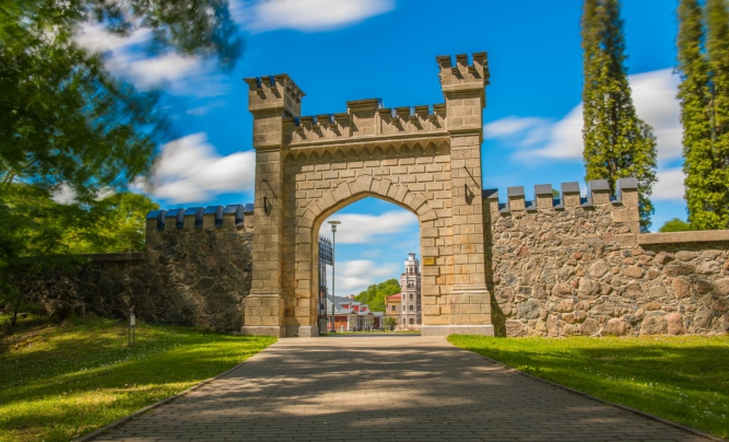 The New Castle of Sigulda and Castle Quarter
