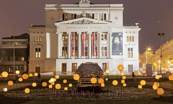 Nationaloper und Ballett Lettlands