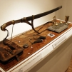 Items in the exhibition on Russian civil war