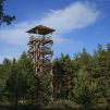 Birdwatching tower at Cape Kolka