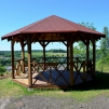 Gazebo at Sabile Wine Hill